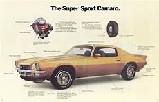 car manuals free online 1972 chevrolet camaro regenerative braking 1972 chevrolet camaro brochure 2
