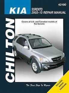 car repair manuals download 2008 kia sorento on board diagnostic system kia sorento chilton repair manual 2003 2013 hay43100