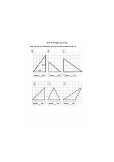 areas of triangles and compound shapes by nuoba teaching resources