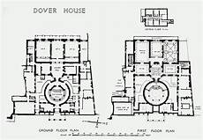 british colonial house plans plate 47 dover house ground and first floor plans