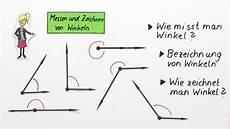 Messen Und Zeichnen Winkeln Mathematik Lernen