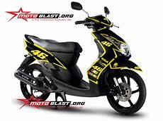 Modif Mio Soul 2010 by Modif Striping Yamaha Mio Soul 2010 Black 46