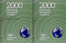 car repair manuals download 2000 ford expedition windshield wipe control 2000 ford expedition lincoln navigator shop manual set original repair service ebay