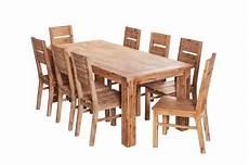 Esszimmertisch Mit Stühlen - esstisch 160x90 6 st 252 hle colorado massiv holz essgruppe