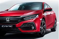This Is The European 2017 Honda Civic Hatchback Carscoops