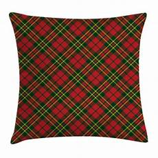 Kissen Rot Kariert - checkered throw pillow cushion cover tartan plaid