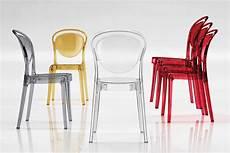 sedie plexiglass kartell parisienne translucent polycarbonate chair calligaris