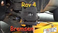 toyota rav 4 bremsbel 228 ge bremscheibe vorn wechseln