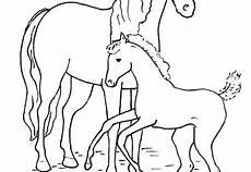 Pferde Malvorlagen Gratis Coloring Pages Crafts