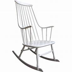 chaise a bascule bois