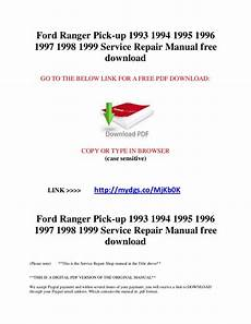 small engine repair training 2003 ford ranger user handbook ford ranger pick up 1993 1994 1995 1996 1997 1998 1999 service repair