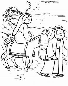 Malvorlagen Bethlehem Leuk Voor Kleurplaat Jozef En Op Weg Naar