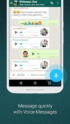 whatsapp messenger f 252 r android download