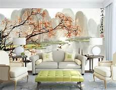 poster papier peint papier peint chinois personnalis 233 paysage automne mural