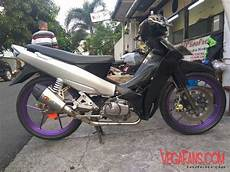 R Modif Simple by R New Hitam Abu Abu Modif Road Race Simple