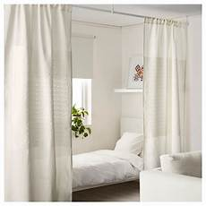 1 pack ikea white curtains dividing room divider window