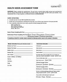 free 10 sle health assessment forms pdf