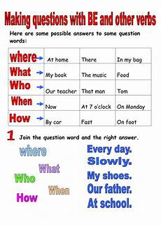 worksheets question words 18435 question words interactive worksheet