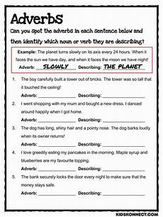 adjective and adverb worksheets for 5th grade adverb study worksheet common core teaching resource