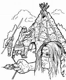 Malvorlagen Indianer Zum Ausdrucken Selber Machen Indianer Malvorlagen Malvorlagen1001 De