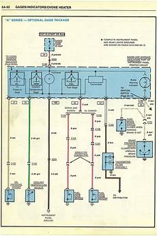85 el camino wiring diagram gauges don t work el camino central forum chevrolet el camino forums