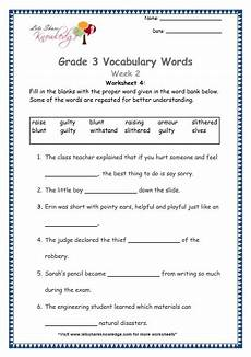vocabulary fun grade 3 4 vocabulary worksheet grade 3 vocabulary worksheets week 2 lets share knowledge