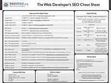 the web developer s seo cheat sheet 3 0 moz