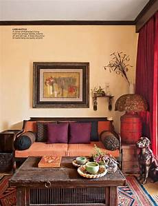 Living Room Ethnic Indian Home Decor Ideas by Colorful Indian Homes Home Color Makeover 2017