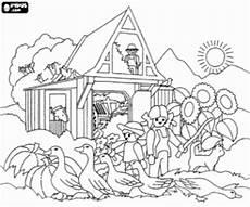 Ausmalbilder Bauernhof Playmobil Ausmalbilder Eine Playmobil Bauernhof Zum Ausdrucken