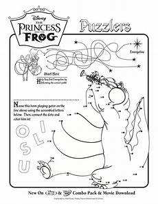 life with lesley free the princess the frog coloring activity sheets