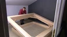 faire un lit en bois r 233 aliser un lit en fr 234 ne