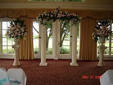 pictures of wedding columns decorated columns grecian columns empire columns scamozzi