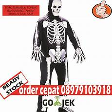 jual kostum tengkorak kostum skeleton kostum halloween murah jakarta