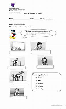 commands worksheet with answers 18713 classroom commands esl worksheets for distance learning and physical classrooms