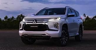 2020 Mitsubishi Pajero Sport Revealed Here Next Year