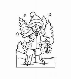 malvorlage weihnachten winter malvorlagen 4