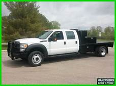 Purchase Used 2012 FORD F450 4X4 CREW CAB 9 FLATBED TRUCK
