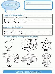 letter c worksheets free printable 23050 abc worksheets for preschool coloring pages printable