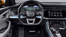 audi q8 2019 interior review most luxurious interior suv youtube