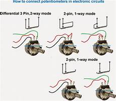 how a potentiometer pot works homemade circuit projects