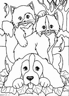 animals coloring page cat all network