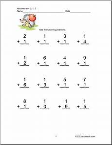 single digit addition worksheets with pictures 9628 worksheets addition 1 digit two addends one digit columns numbers 0 1 and 2 four pages