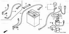 honda atv 2003 oem parts diagram for battery trx500fa 01 04 fga 04 partzilla com