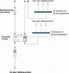 fi schalter schalter elektroinstallation elektro