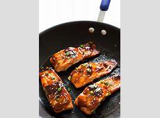honey soy sauce glazed salmon