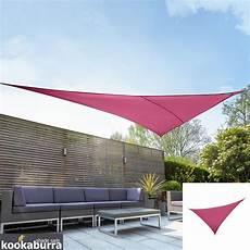 Sonnensegel Dreieck 2m - kookaburra 174 4 2m x 4 2m x 6 0m rechtwinkliges dreieck rosa