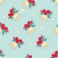 jingle bells merry christmas seamless pattern color vector illustration for digital print