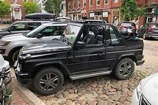 The Mercedes G Class Cabriolet Is The 200 000 Roader
