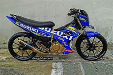 Modifikasi Satria Fu Ala Road Race