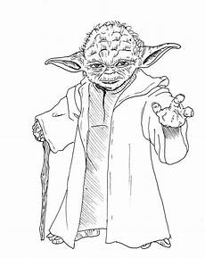 Lego Wars Yoda Ausmalbilder Wars Yoda Coloring Pages And Print For Free